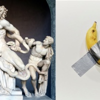A Moment of Solipsism Triggered by Maurizio Cattelan's Banana