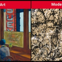 Differences between illustration, fine art, modern art, and contemporary art