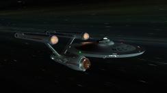 My Blender Enterprise in Space