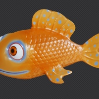 Cute fish exercise, with animation