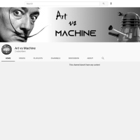 New YouTube Channel: Art vs Machine